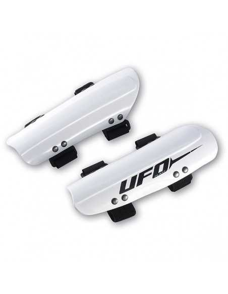 UFO PLAST SLALOM ADJUSTABLE RACING ARMGUARDS WHITE