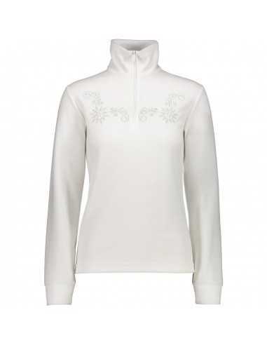 CAMPAGNOLO GIRL FLEECE SWEAT WHITE 3G11276 A001