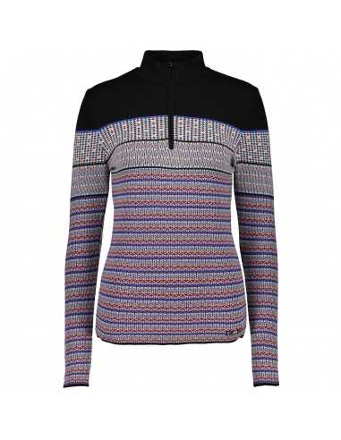 CAMPAGNOLO WOMAN KNITTED SWEAT PP BLACK 7H26708 78BE