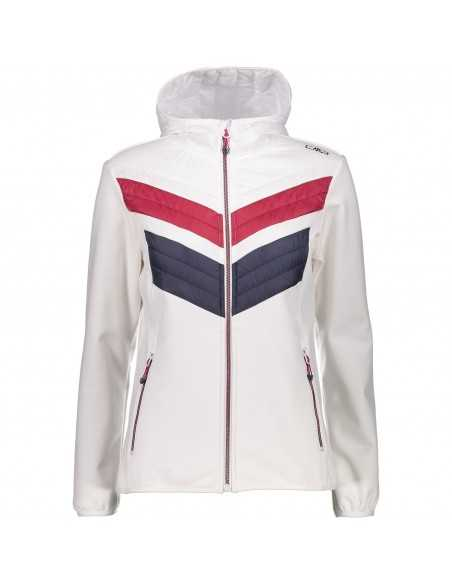 CAMPAGNOLO WOMAN SOFTSHELL JACKET WHITE