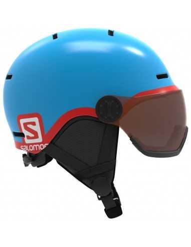 SALOMON GROM VISOR BLUE L39916100