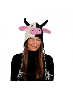 PINKYAK ANIMAL HAT VACA COW