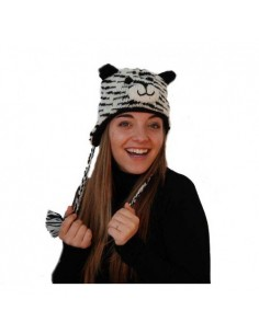 PINKYAK ANIMAL HAT SIBERIAN TIGER TIGRE SIBERIANO