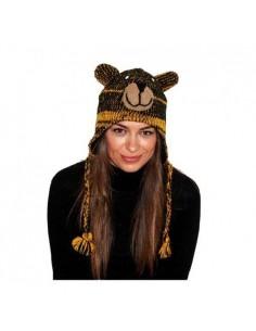 PINKYAK ANIMAL HAT BEAR YELLOW OSO AMARILLO