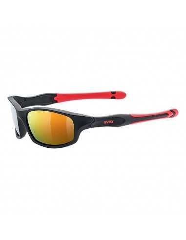 UVEX SPORTSTYLE 507 BLACK MAT RED S5338662316