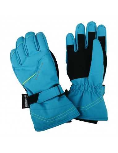 DARE 2B HANDFUL GLOVE FLURO BLUE DBG300 3FN